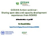 Sharing open data and capacity development experiences from RCMRD