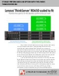 Storage performance and options with the Lenovo ThinkServer RD650