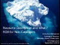 NCompass Live: Resource Description and What? RDA for Non-Catalogers