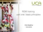 Rdm training presentation 16.01.2013