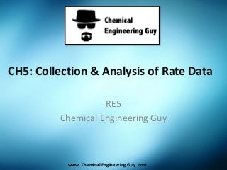 Collection & Analysis of Rate Data