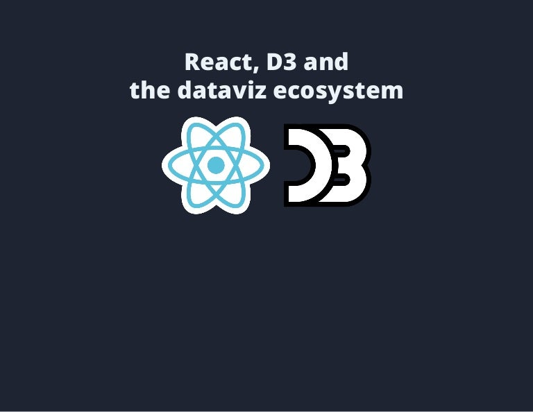 React, D3 and the dataviz ecosystem