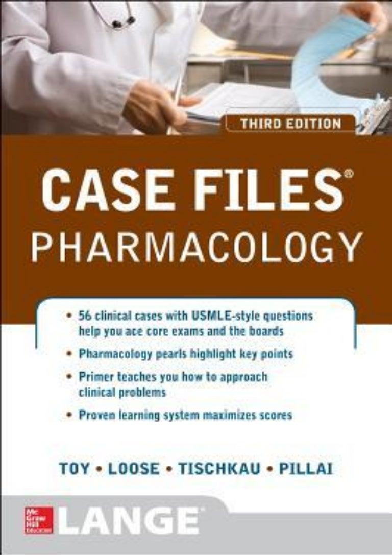 15+ Read Online Case Files Pharmacology, Third Edition LANGE Case Files… Bilder