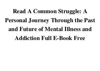drug addiction vs mental illness