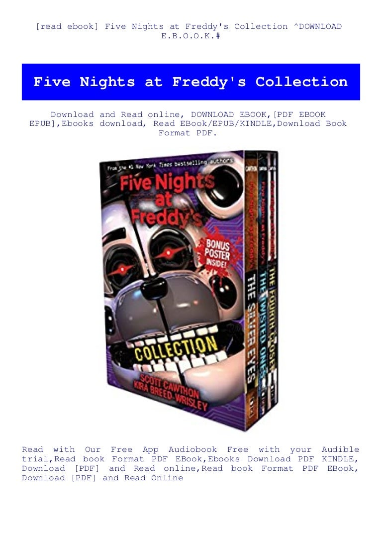 Free [read ebook] Five Nights at Freddy's Collection ^DOWNLOAD E.B.O.O.K.#