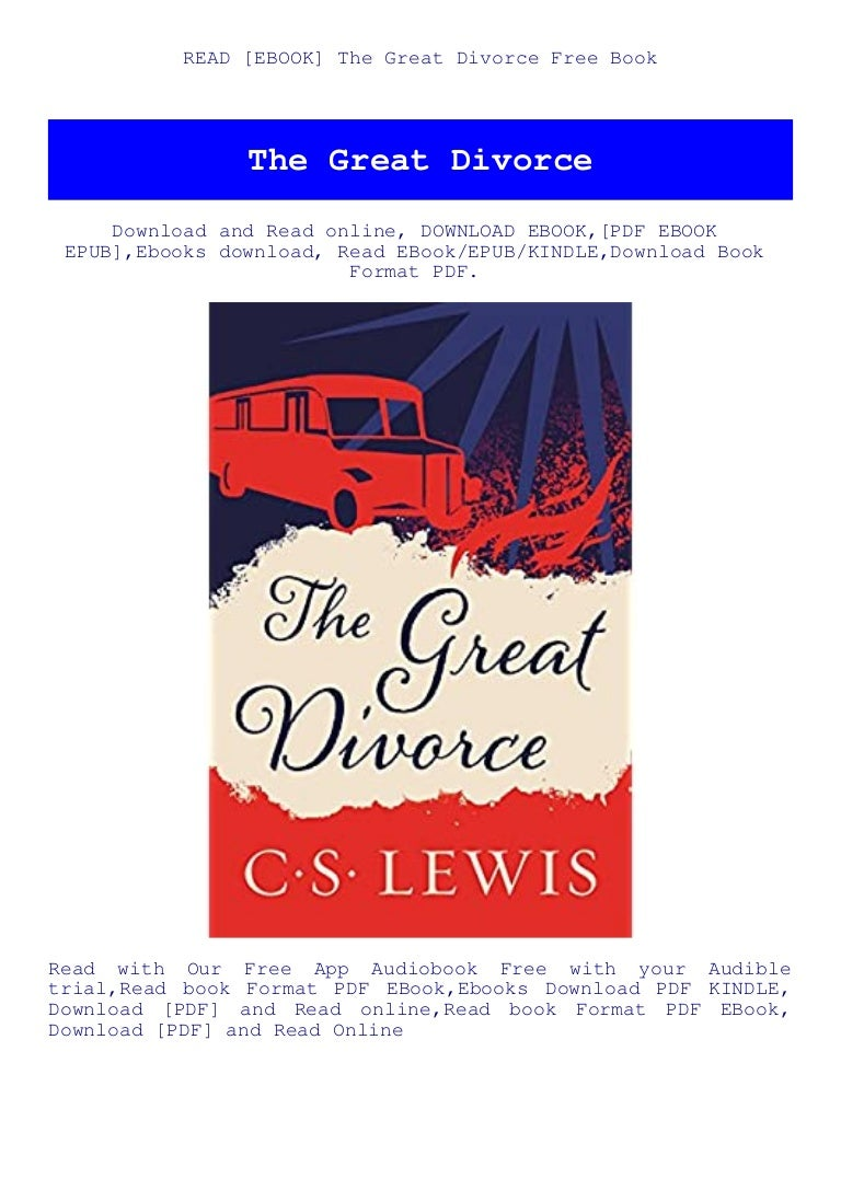 Free READ [EBOOK] The Great Divorce Free Book