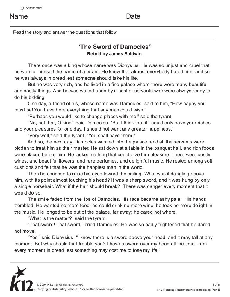 the story of regulus answers