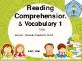 TOEFL : Reading