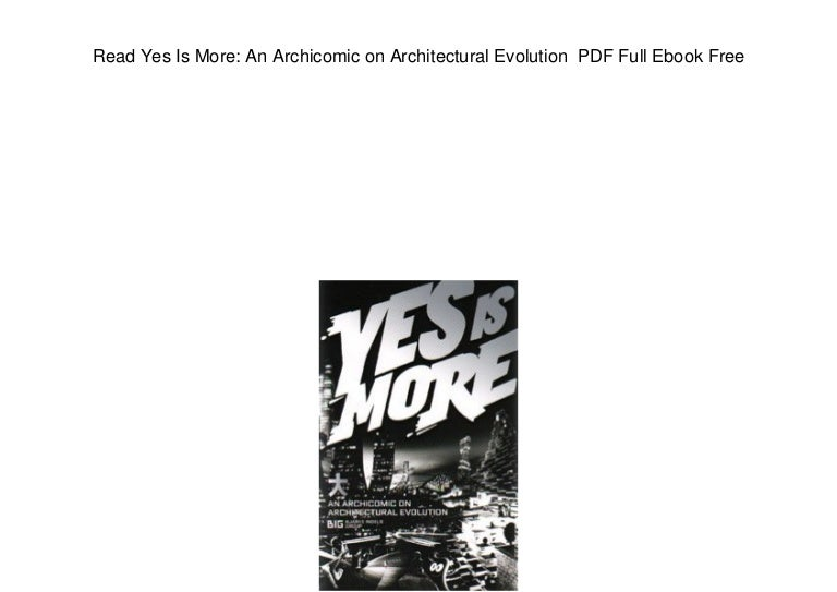 Yes Is More Big Pdf