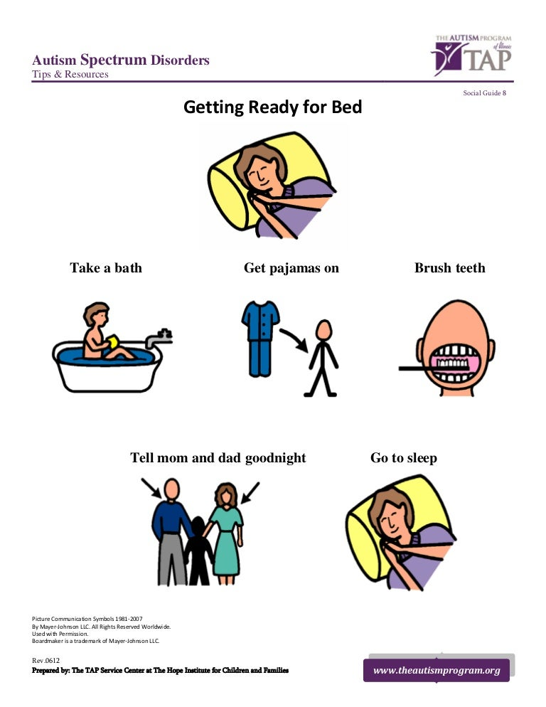 Ready For Bed Social Guide