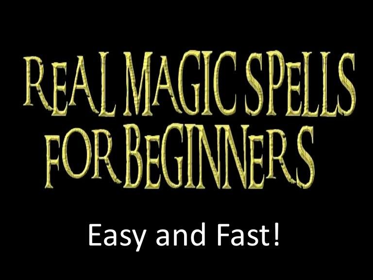 real magic spells that work - 768×576