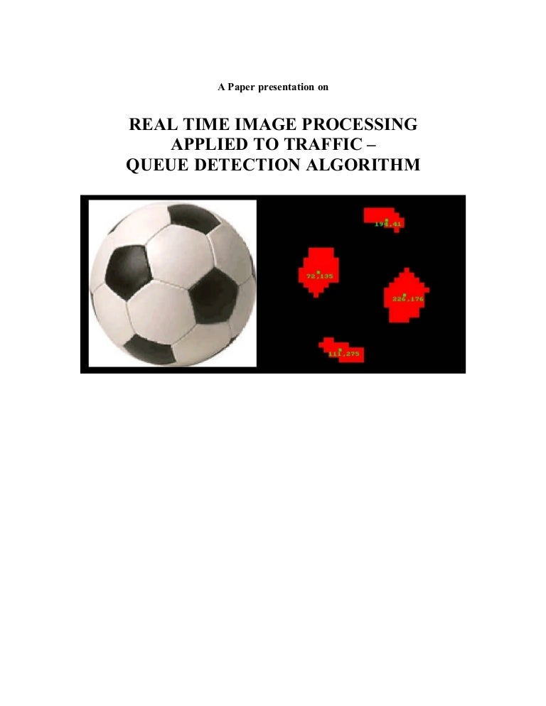 applied image processing