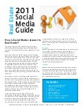 2011 Guide to Social Media & Real Estate