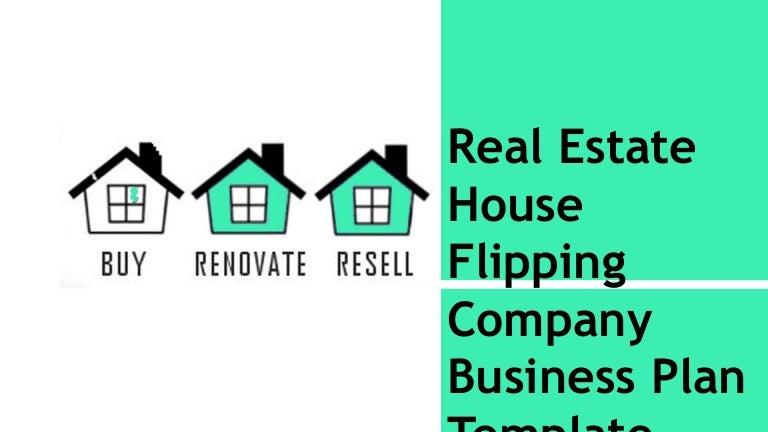 House flip business model