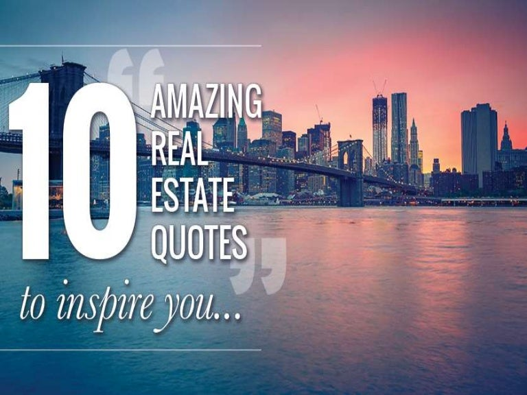 real estate inspiring quotes