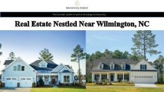 Real estate nestled near Wilmington, NC