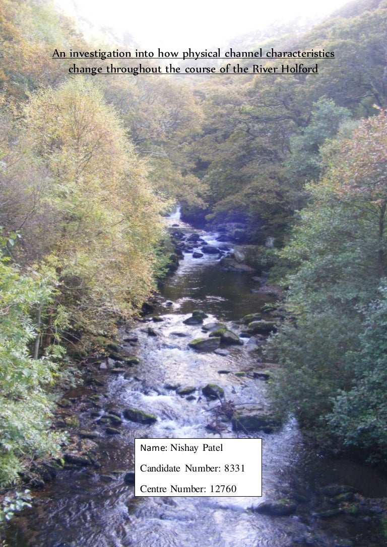 gcse geography coursework river study