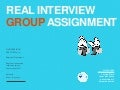 Interview group assignment