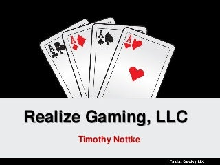 Realize Gaming, LLC - Video Poker Patents