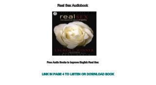 Free Audio Books to Improve English Real Sex
