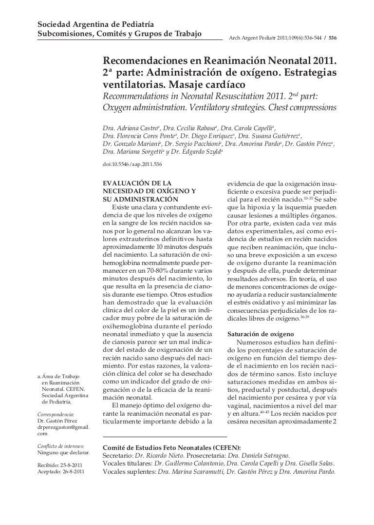 Reanimacion neonatal 2 parte