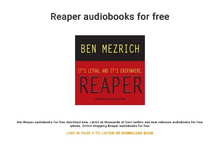 Reaper audiobooks for free