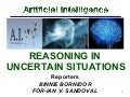 Artificial Intelligence - Reasoning in Uncertain Situations