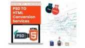 Reasons Why to Outsource PSD to HTML Conversion Services?