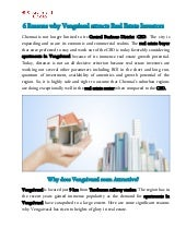Reasons why Vengaiasal attracts real estate investors