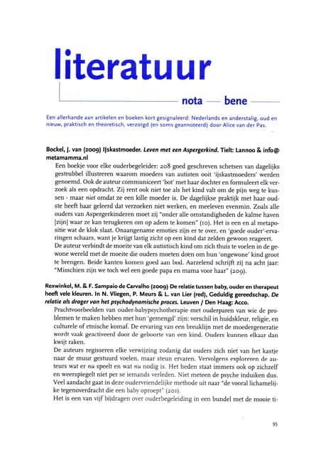 recensie IJskastmoeder in Ouderschap & Ouderbegeleiding Mrt 2010