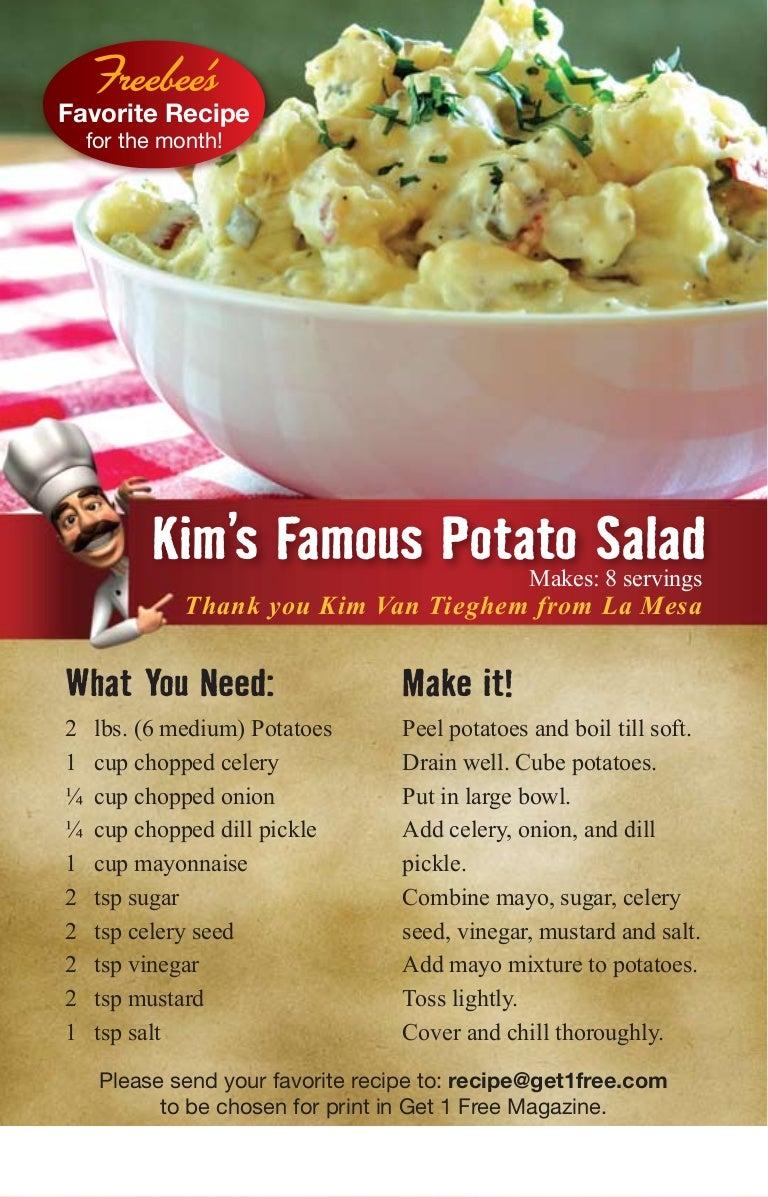 Potato Salad Recipe Celery Seed