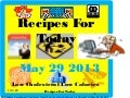 Recipes for today  low cholesterol low calories may 29 2013 paz paddon development