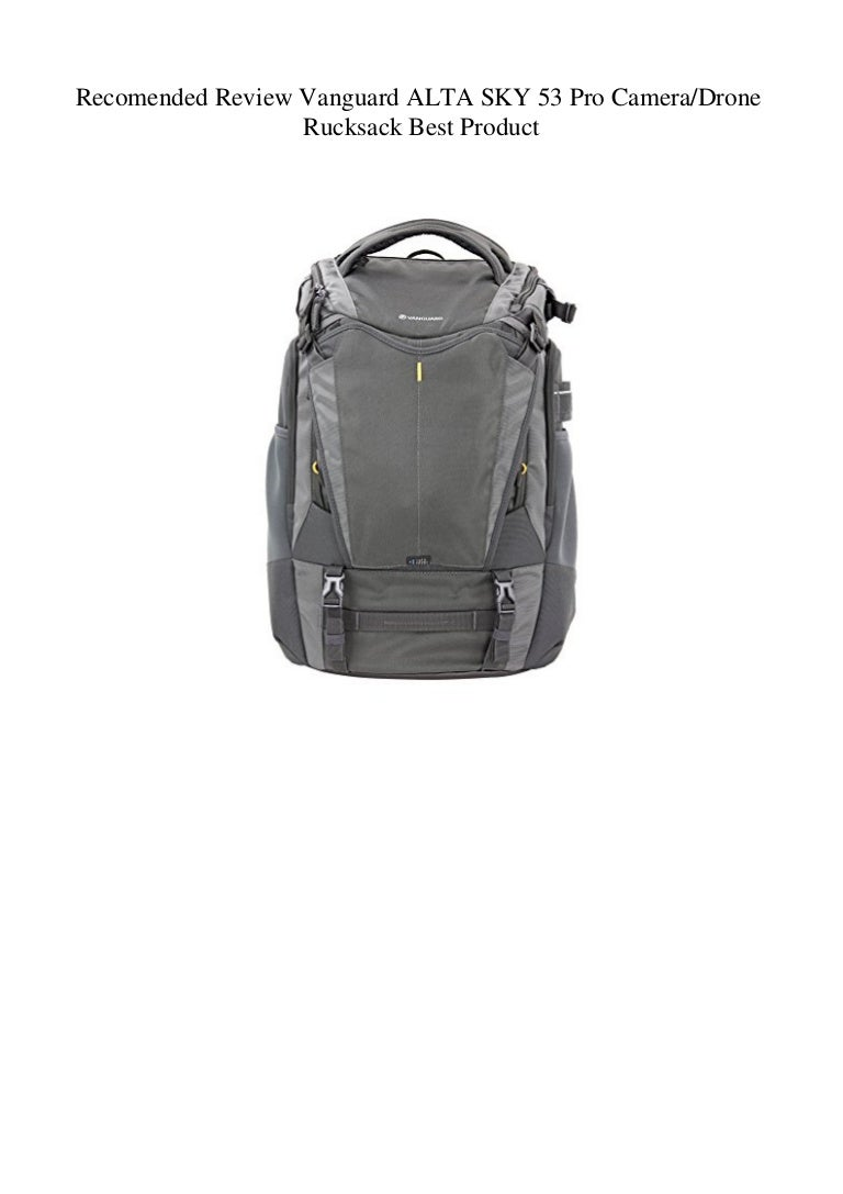 Recomended Review Vanguard Alta Sky 53 Pro Cameradrone Rucksack Best