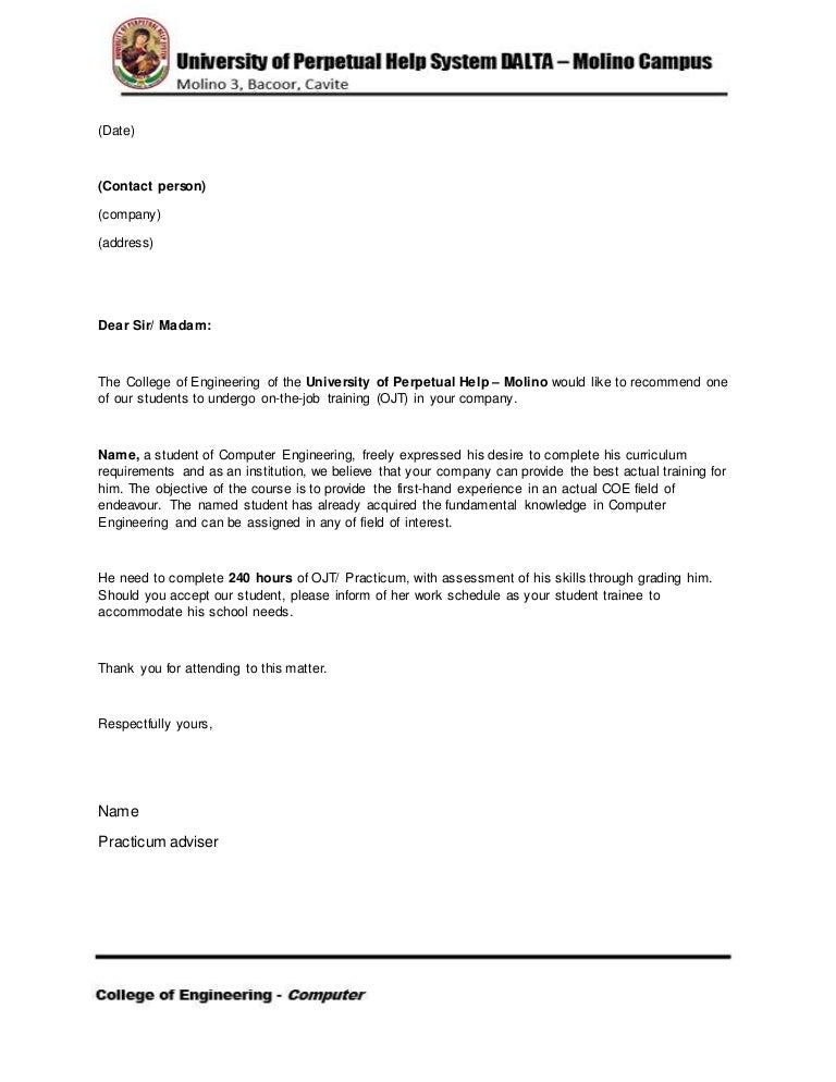 recommendation letter uphsd