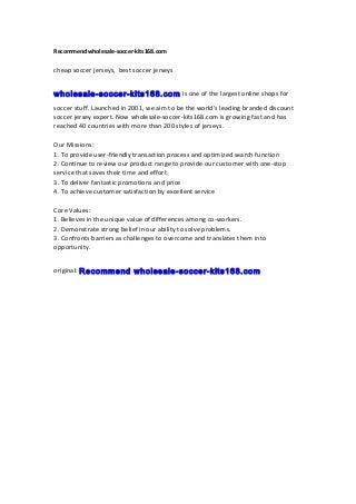 recommendwholesale-soccer-kits168-160707