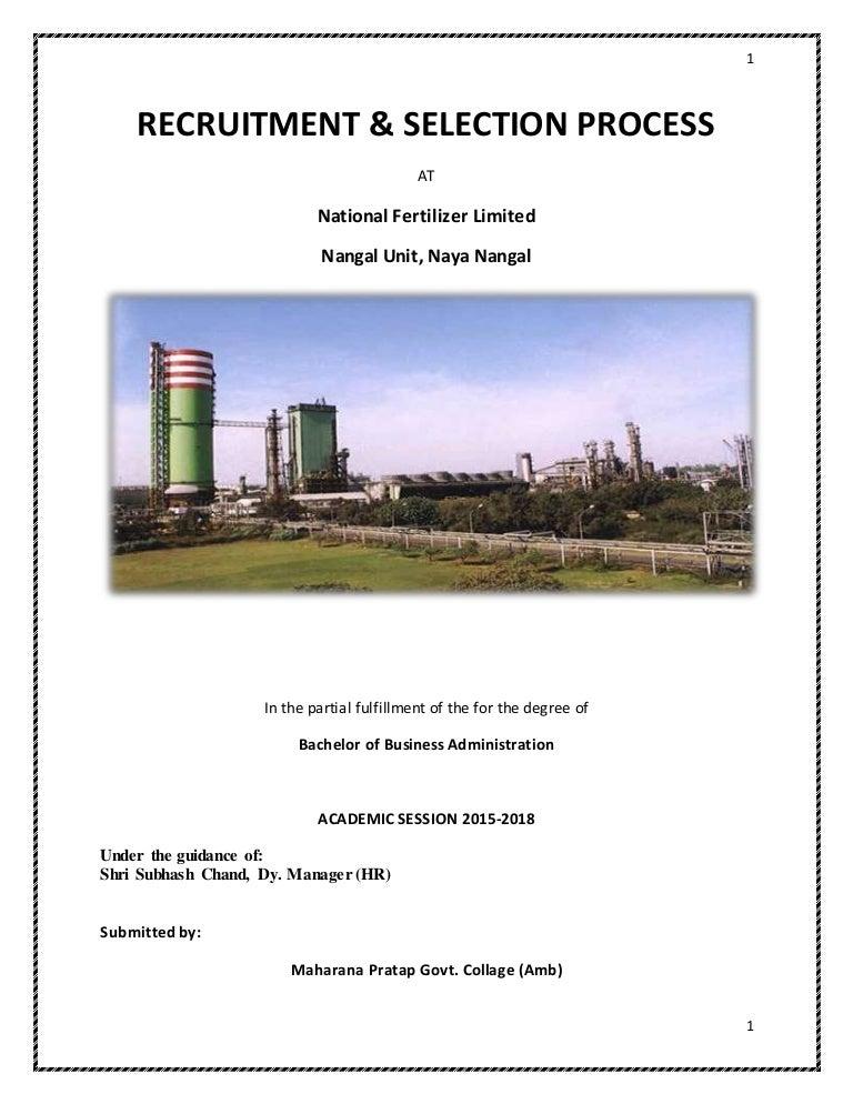 Recruitment Begins For Landmark Study >> Recruitment And Selection Part 2