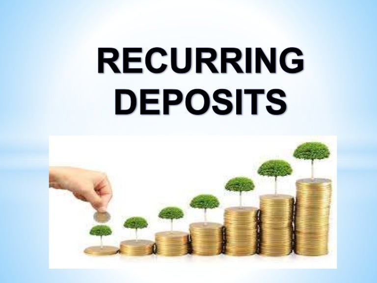 what is recurring deposit account Citibank india offers various types of deposits like recurring deposits, fixed deposits, tax saving deposits, senior citizen deposits, etc at attractive interest rates enjoy the flexibility and the assurance of safety for your funds with citibank deposits.