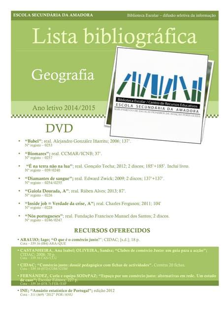 Recursos geografia 1