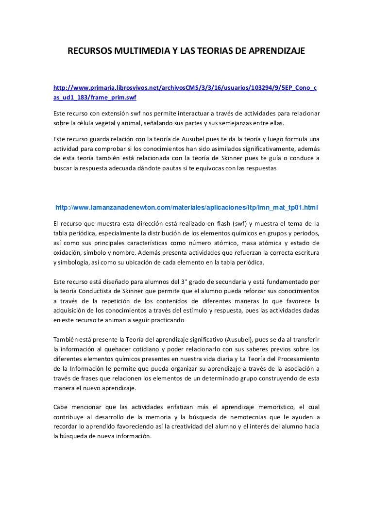 Recursos multimedia y las teorias de aprendizaje recursosmultimediaylasteoriasdeaprendizaje 130722230256 phpapp01 thumbnail 4gcb1374534235 urtaz Images