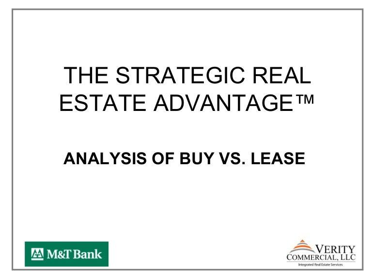 Greater Reston Chamber Of Commerce Commercial Real Estate 101 Buy Vs