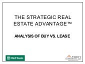 Greater Reston Chamber of Commerce-Commercial Real Estate 101: Buy vs Lease