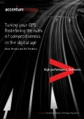 Tuning your GPS: Redefining the rules of competitiveness in the digital age