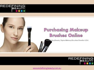 Purchasing Makeup Brushes Online