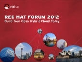 Red Hat Forum 2012 - JBoss RHQ - Java Application Monitoring & Management Platform