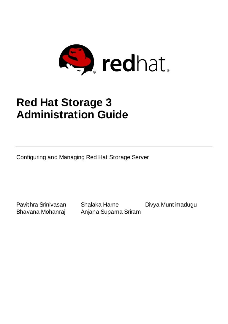 Red hat storage-3-administration_guide-en-us