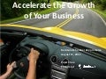 Accelerating the Growth of Your Business