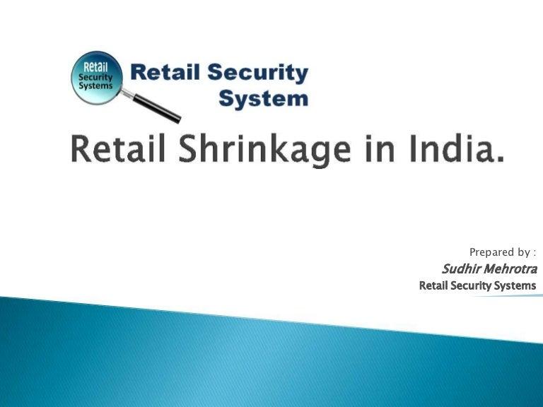 Reduce retail shrinkage s