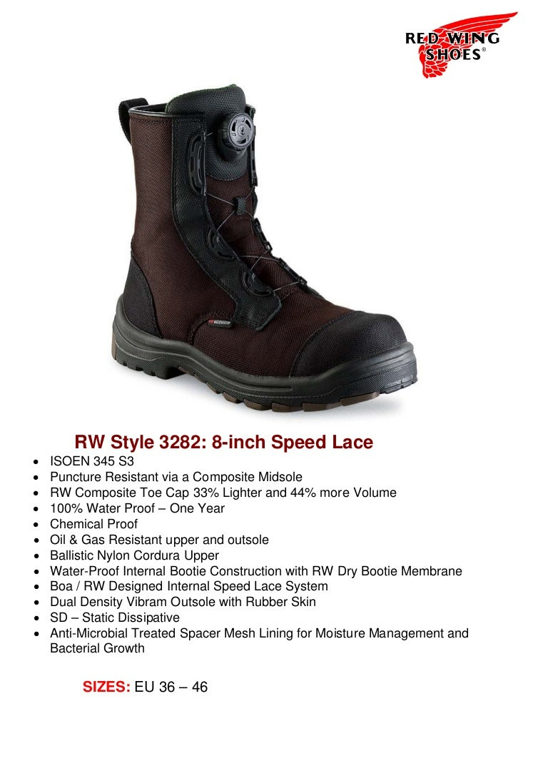 Red Wing Shoes 3282 BOA safety boot