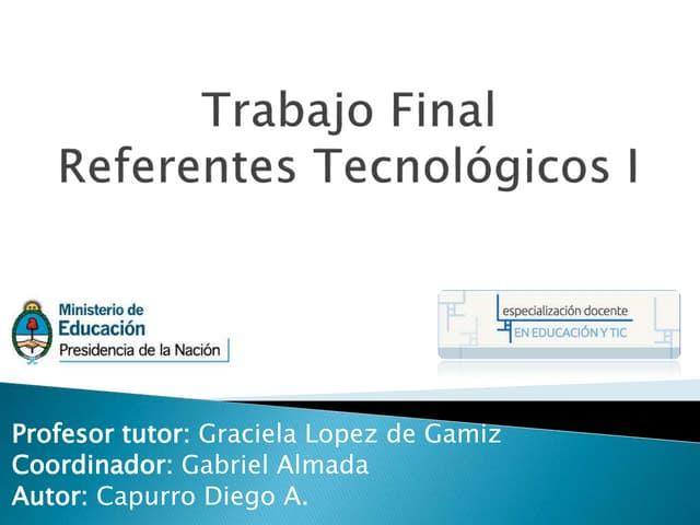 Propuesta Referente TEcnologio