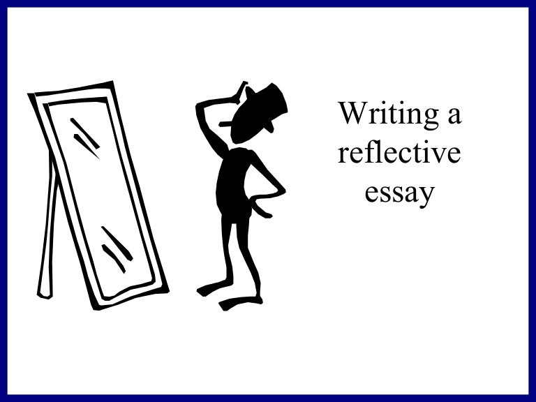 reflective essay in an online class